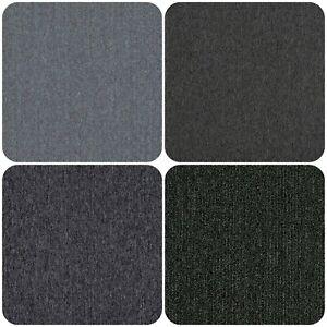 Anthracite Grey Slate Silver Carpet Floor Tiles 20 Box 5m2 Loop Pile Home Office