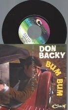 """7""""   Don Backy – Bum Bum"""
