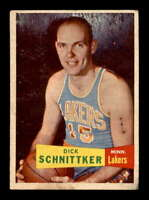 1957 Topps #80 Dick Schnitker RC VGEX X1577260