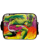 Incredible Hulk Messenger Shoulder Bag School Marvel Retro Brand New With Tag
