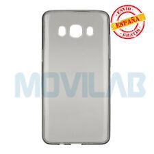 Funda  gel / TPU Samsung SM-J510 Galaxy J5 2016 negro translúcido ultrafina slim