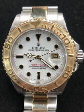 ROLEX YACHT MASTER STEEL & GOLD 18K, 40mm, Ref. 16623, Year  2006, WHITE DIAL