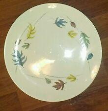 """Vtg Franciscan Pottery Autumn Dinner Plate 10 1/2"""" Leaf Leaves Retro Modern"""
