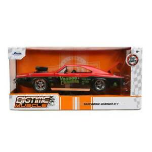 """Jada Toys Bigtime Muscle Series: 1970 Dodge """"Voodoo Charger"""" R/T 1/24 Scale"""
