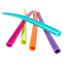 bubba big straws 5ct of reusable straws (Assorted classic colors)