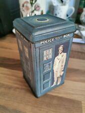 Doctor Who Vintage 1982 5th Doctor TARDIS Tin Money box bank Peter Davison
