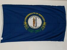 New listing Kentucky 3' X 5' Poly State Flag *Free U.S. Flag With Purchase*