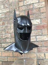 Sonar cowl for your batman costume and mask SCREEN ACCURATE SILVER PAINTED