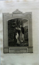 PHILIP BAPTIZETH THE ETHIOPIAN EUNUCH Craig Neagle Gravure BIBLE BROWN 1819