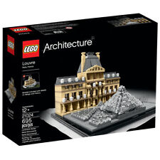 LEGO Architecture-21024-Louvre-Retired Product-New in Sealed Box!
