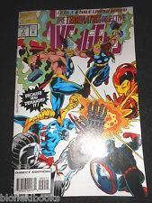 AVENGERS; Terminatrix Objective - 1993 - Marvel Comic, Iron Man, Thor, America
