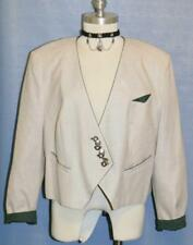 """COTTON JACKET Coat German Fitted Swing Skirt 44 14 L B44"""""""