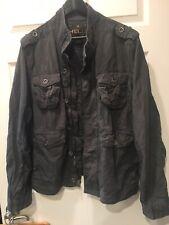 Vintage Helix M65 Field Jacket Dark Olive Green Size L