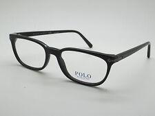 0bdfae302eb NEW Authentic POLO RALPH LAUREN PH 2149 5001 Shiny Black 54mm RX Eyeglasses