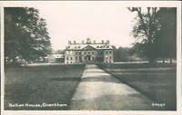 Postcard Lincolnshire Belton House Grantham Real photo unposted