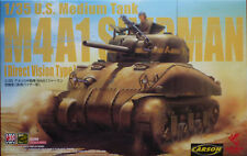 Asuka Model 35025 - US Medium Tank M4A1 Sherman Direct Version Type
