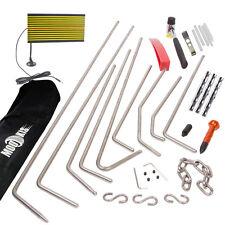 Car PDR Paintless Hail Dent Repair Puller Rods Removal Tap Hammer Line Board Kit