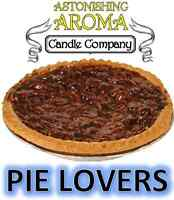 PIE LOVERS COLLECTION Soy Wax Clamshell Break Away tart melt wickless candle