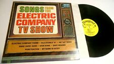 Walt Disney Songs From The Electric Company Tv Show Lp Soundtrack