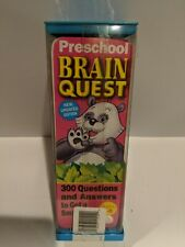 BrainQuest Ages 4-5 Preschool ~ 300 Questions and Answers