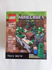 LEGO® Cuusoo 21102 Minecraft Micro World  NEU & OVP / new and sealed