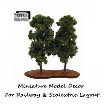 2 Chestnut  Model Tree Train Railway & Slot Cars Scenery Miniature Deco Layout