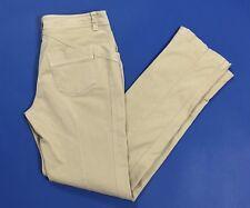 Seventy pantalone donna w28 tg 42 skinny stretch slim aderenti usati beige T2637