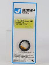 3501 VIESSMANN - ECHELLE H0 - ampoule 2,3MM. 3U. jaune / Pièce de rechange T