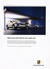 2007 Porsche Cayenne - Conception - Classic Vintage Advertisement Ad D36