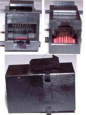 Mountable KEYSTONE COUPLER/Joiner Female~F RJ45 cord Jack Ethernet Network$SHd{K