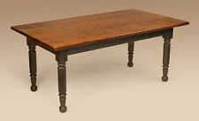 Farm Table - Colonial- Cherry Wood - Dining Farmhouse Table - Kitchen Furniture