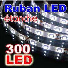 P842/5# Ruban LED Blanc pur  5 mètres 300LED - étanche