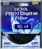 Hoya 72mm Pro1 DMC Thin Multi Coated ND4 Neutral Density Filter Special Offer