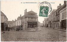 LA FERTÉ BERNARD (72) - Rue de Paris et rue Thiers