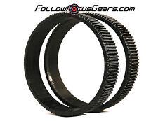 Seamless Follow Focus/Zoom Gear Ring Set for Panasonic Lumix G12-35mm f2.8 Lens