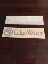Edge water Boats Decal/Sticker