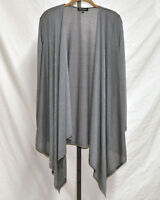 Slinky Brand Long Sleeve Open Front Hacci Knit Jacket Sz Small  #HSN00575