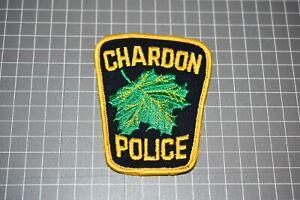 Chardon Ohio Police Patch (US-Pol)