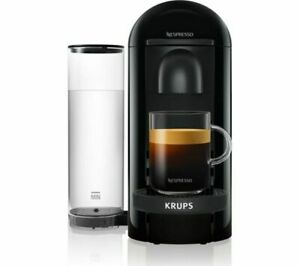 NESPRESSO by KRUPS Vertuo Plus XN903840 Coffee Machine - Black Damaged Box