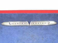 1950 CUSTOM FORD WOODY STATION WAGON FRONT FENDER SPEARS TRIM NOS PAIR NICE 517