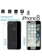 Premium Real Front and Back Tempered Glass Film Screen Protector Apple iPhone 8