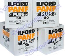 ILFORD Pan F 35mm 36 Exposure Film Pack of 3