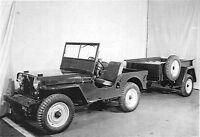 1950 CJ-4 WILLYS JEEP 8x11 PHOTO