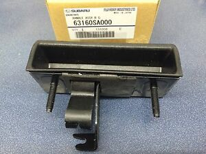 Genuine Subaru Forester Outer rear gate handle fits 2002-2008 63160SA000 New Oem