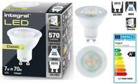 GU10 LED Classic Light Bulb 7W eq to 70W 4000K, 570-Lumens DIMMABLE.