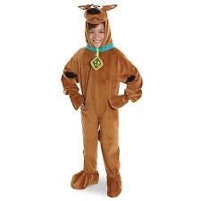 Scooby Doo Deluxe Plush Kids Costume - Medium ( Size 8-10 ) 882092
