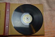 LOT DE 10 DISQUES 78 tours ÉTAT PARFAIT de 1939 à 1959 + 3 DISQUES ENDOMMAGÉS.