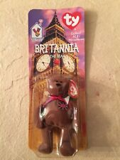 Ty Britannia the Bear McDonalds Teenie Beanie Baby with Errors on date/Oakbrook