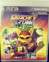 Sony PlayStation Ratchet & Clank All 4 One PS3 BRAND NEW VIDEO GAME