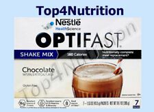 OPTIFAST 800 SHAKE MIX | 6 BOXES | CHOCOLATE  | 42 SERVINGS | NEW FORMULA